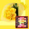 ホワイトデーにはお花とスイーツ 「アイプレゼンツ」で花を贈る